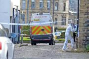 Scene of stabbing in Chapel Lane, Keighley in October