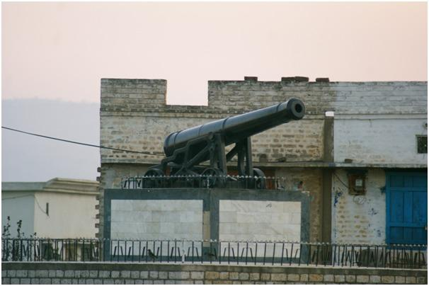The Great War cannon