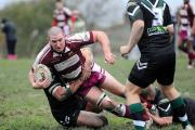 Experienced prop Ross Simpson helped Wibsey Warriors to a crushing victory over Littleborough last week
