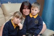 Parent Jodie Dawn was recently fined £120 for taking her children, Leah Hepton and Riley Dawn, out of school for a holiday