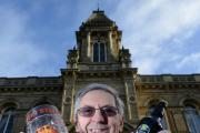 Bill Arnold, known to many as 'Brighton Bill', ahead of the Bradford Beer Festival at Victoria Hall