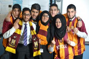 Bradford City: People play the race card but that's nothing to do with it. Society is changing...