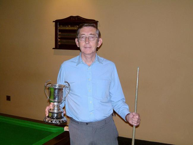 Stephen Kershaw is organising the Bradford Billiards Championship qualifiers