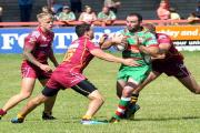 Paul Handforth scored a first-half try for Keighley Cougars