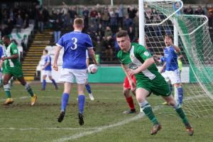 Bradford Park Avenue reach County Cup semi-finals after sudden-death penalty shootout win over Shaymen