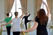 Sammy Murray Brown teaching her Balletbefit class at Victoria Hall Saltaire (20988657)