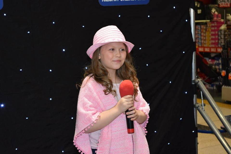 RISING STAR Jessica Frost won Pulse 1 radio station's 'Eggs Factor' contest at the Kirkgate Centre in Bradford on Good Friday.