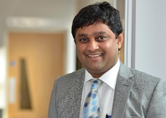 Dr Dinesh Saralaya, consultant respiratory physician and researcher at Bradford Institute of Health Research