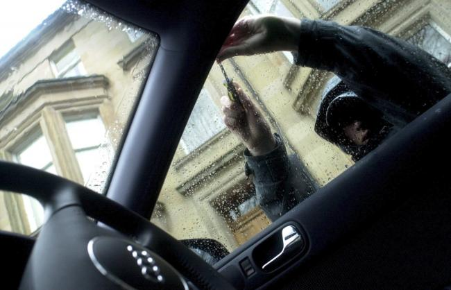 There were hundreds of instances of car crime in the Bradford district over the past six months