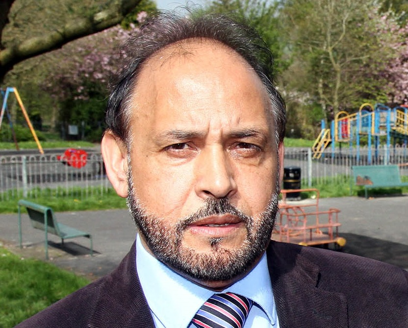 Keighley Central Ward councillor Abid Hussain, who is now deputy lord mayor of Bradford Council - 3773144