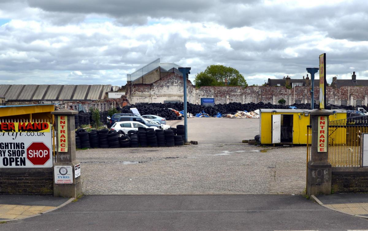 Controversy over plans for waste tyre disposal site