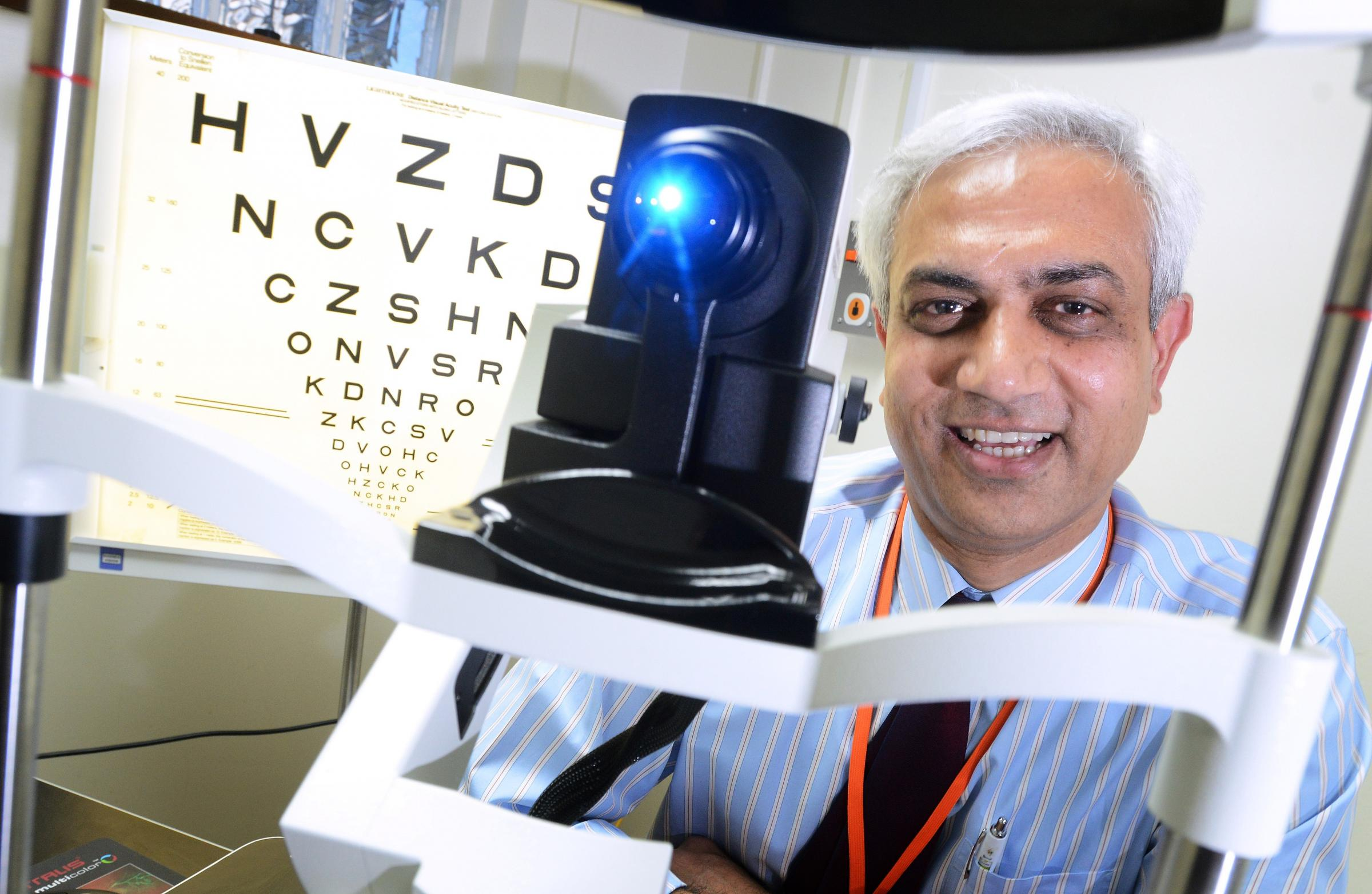 Consultant eye surgeon Faruque Ghanchi