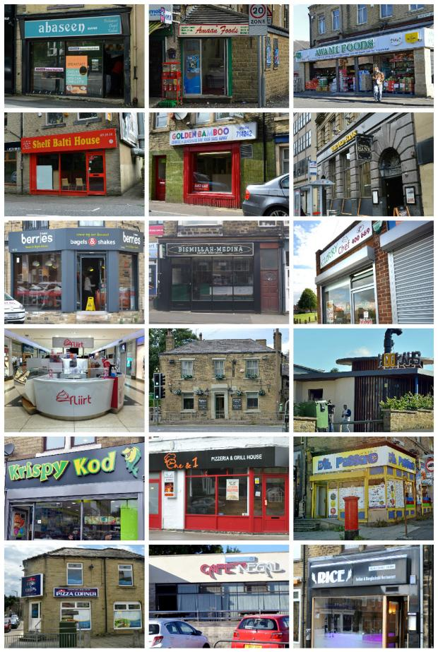 Revealed The Food Businesses With Zero Hygiene Ratings