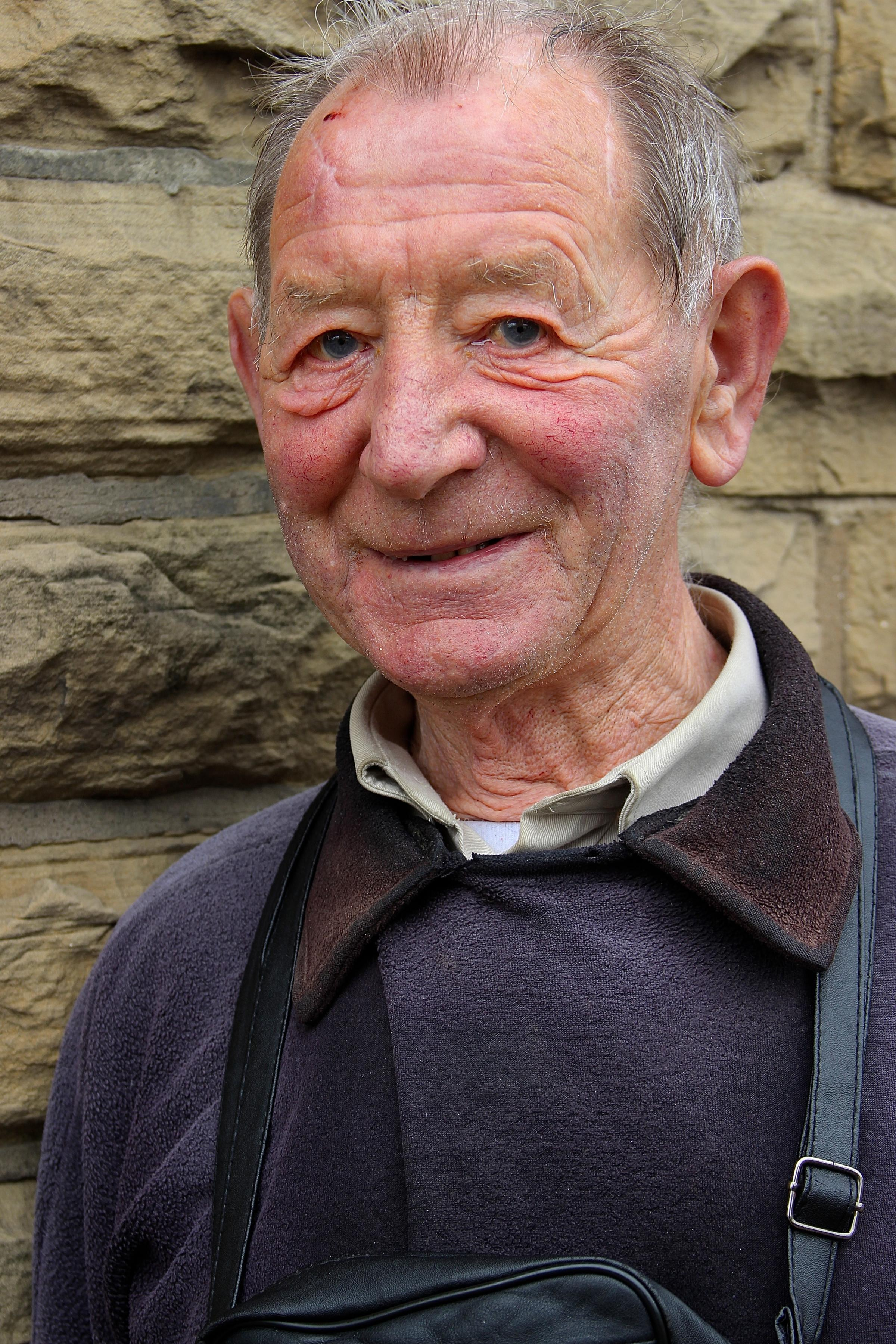 Geoffrey Brindley. Picture by T&A reader Andrew Clayborough