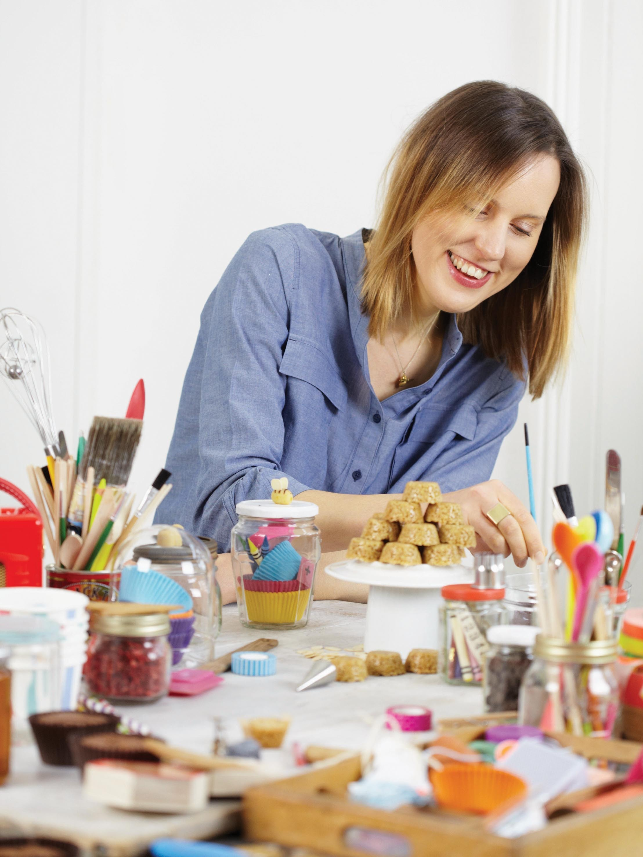 Former British Bake Off contestant Frances Quinn