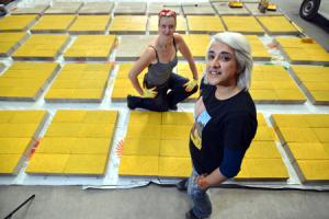 Follow the yellow brick road to Wizard of Oz themed project in Bradford City Park