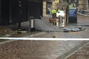 WEATHER WARNING: Strong winds and heavy rain to hit Bradford again today after yesterday's storm brought roofs and trees crashing  down