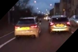 VIDEO UPDATE: Two drivers race along Bradford street in 'frightening' incident