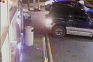UPDATED WITH NEW CCTV: Man injured as car is rammed in 'shocking' disturbance at Bradford petrol station