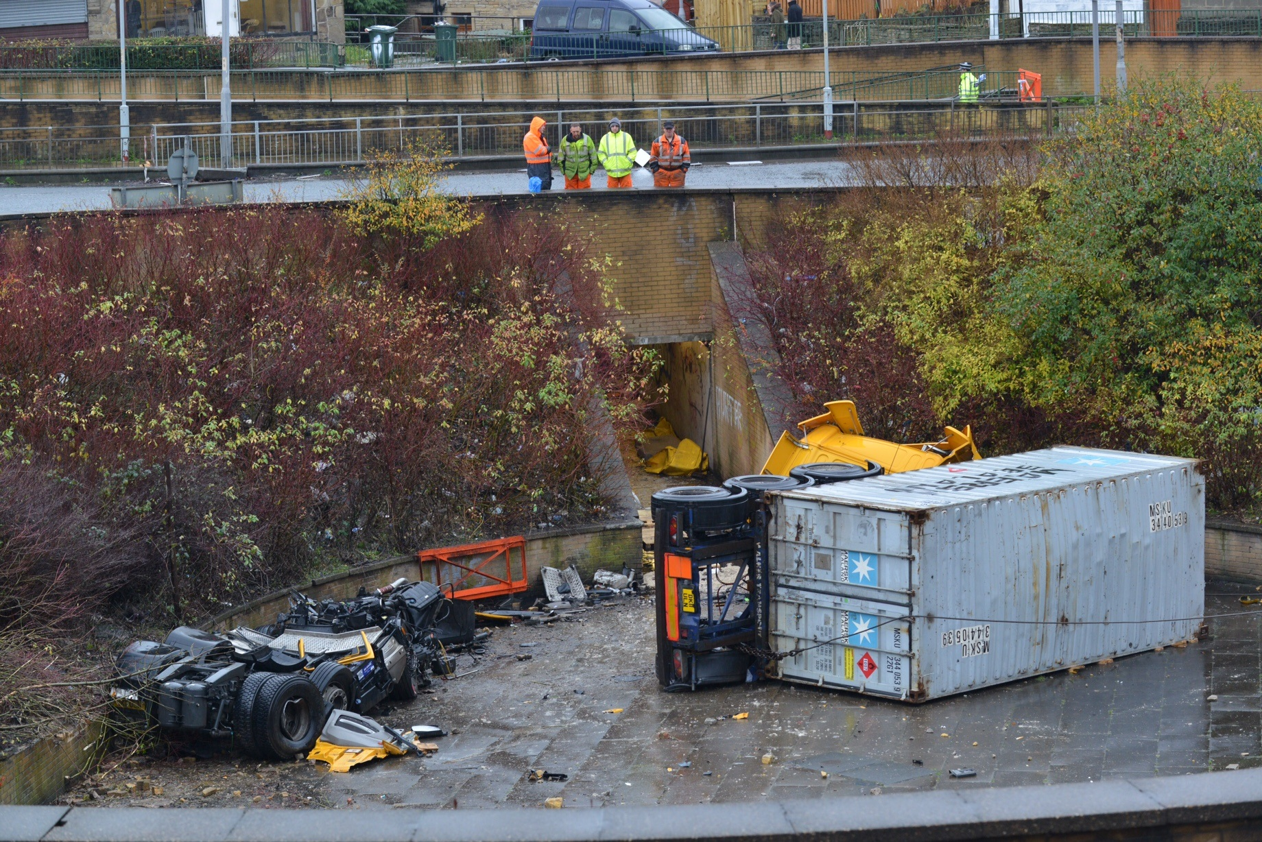Police name lorry driver in Bradford horror crash, while post mortem