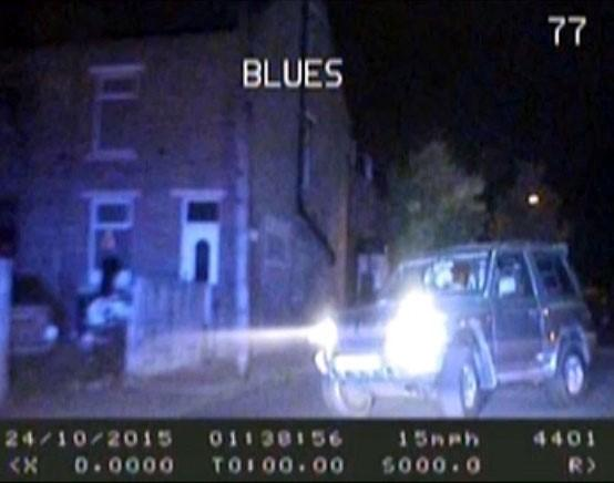 DRAMATIC VIDEO: Driver rams police car after high-speed