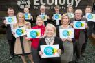 Ecology Building Society staff celebrate its Living Wage employer accreditation
