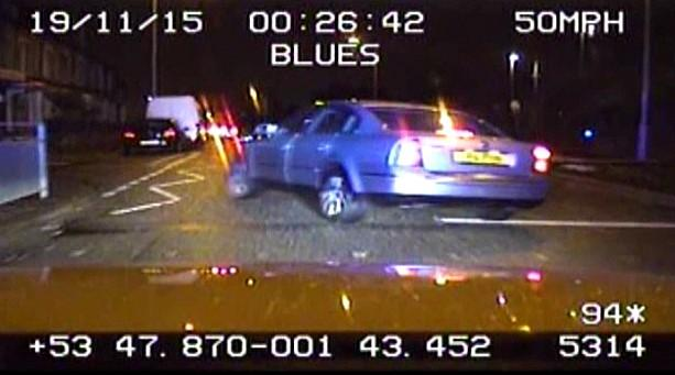 Police chase video driver with broken leg jailed for leading police bradford telegraph and argus solutioingenieria Gallery