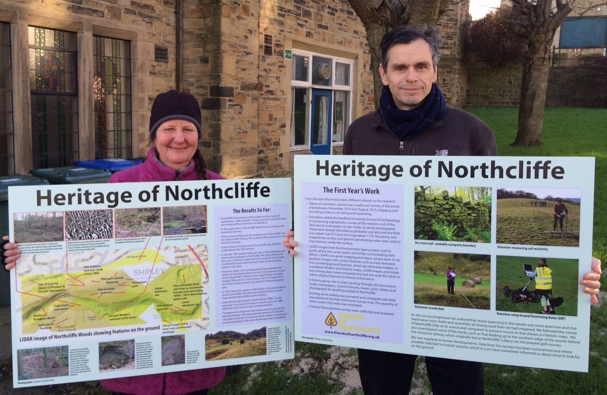 Northcliffe Heritage Project volunteers Jane Robinson and Tony Woods