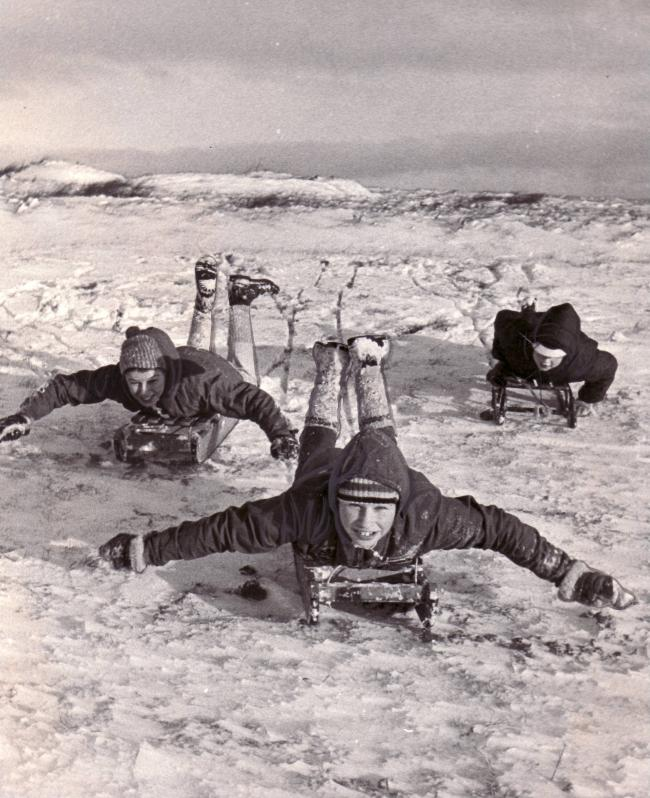 Image result for 1950s snow pictures