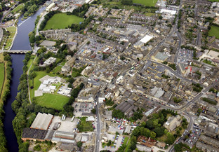 Bradford Telegraph and Argus: Otley from the air