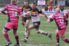 STRONG: Jonny Walker impressed on his competitive Bradford debut against Featherstone last weekend but says there is plenty more to come