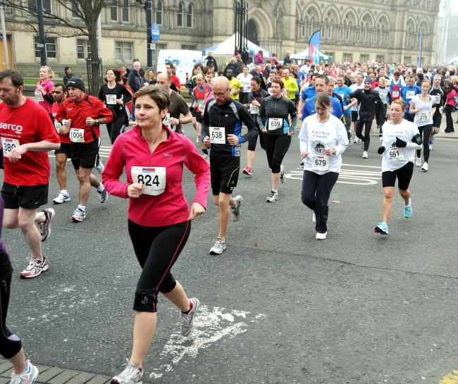 1,200 people to tackle Bradford's 10k for Epilepsy Action