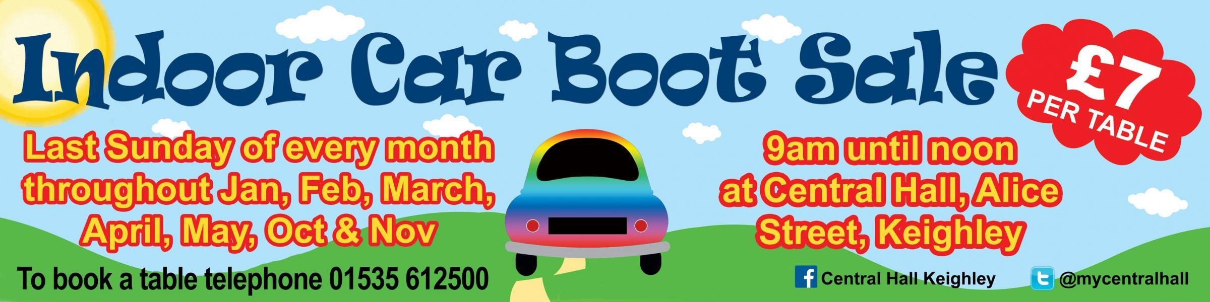 Car Boot Garage Jumble Sales In Bradford