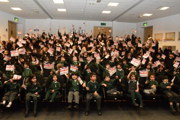 Bradford Telegraph and Argus: The launch of the Pledge for the Nation campaign at Dixons Music Primary