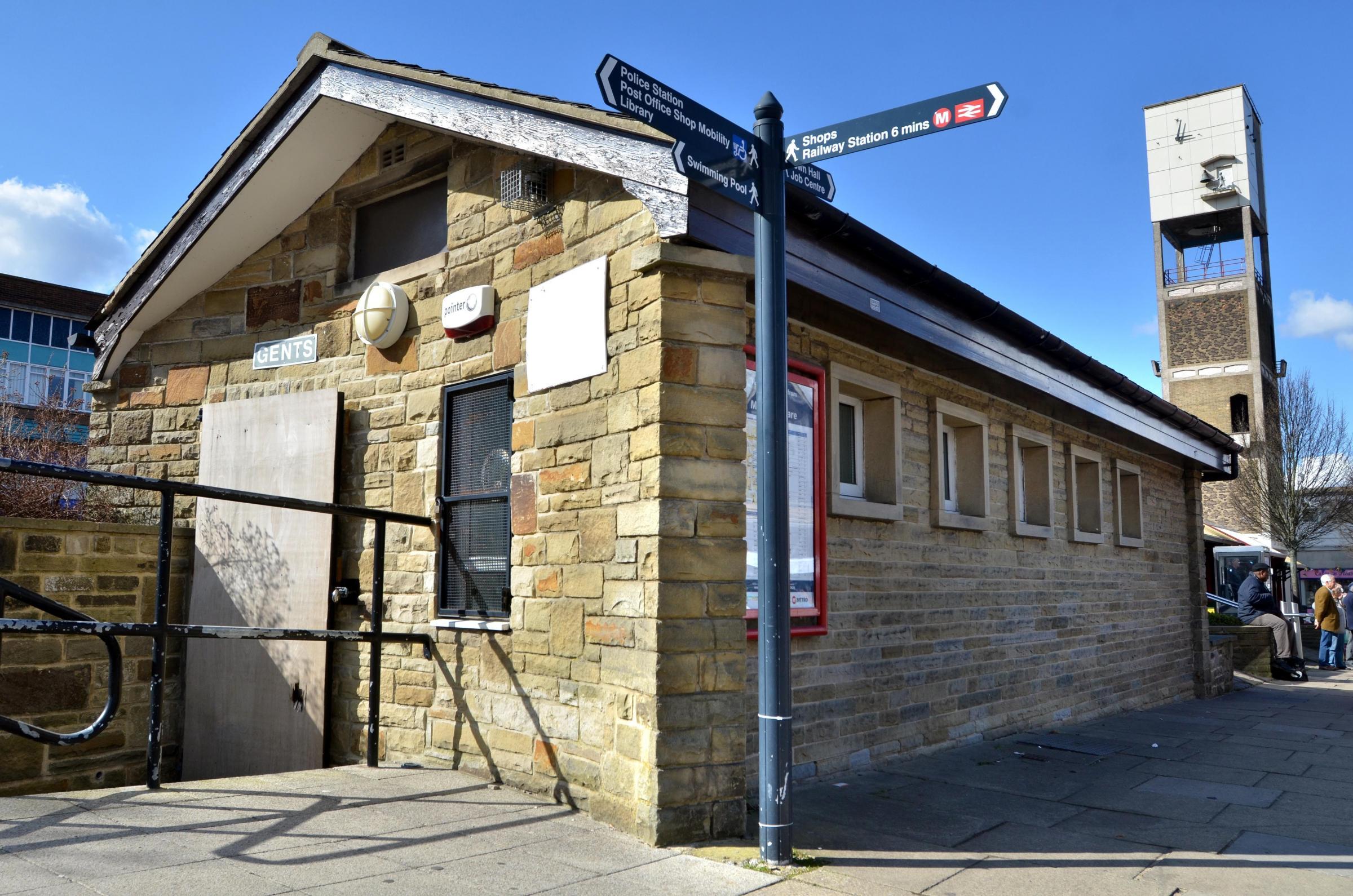 Shipley public toilets