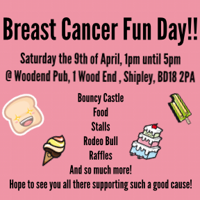 Breast Cancer Now Fun Day