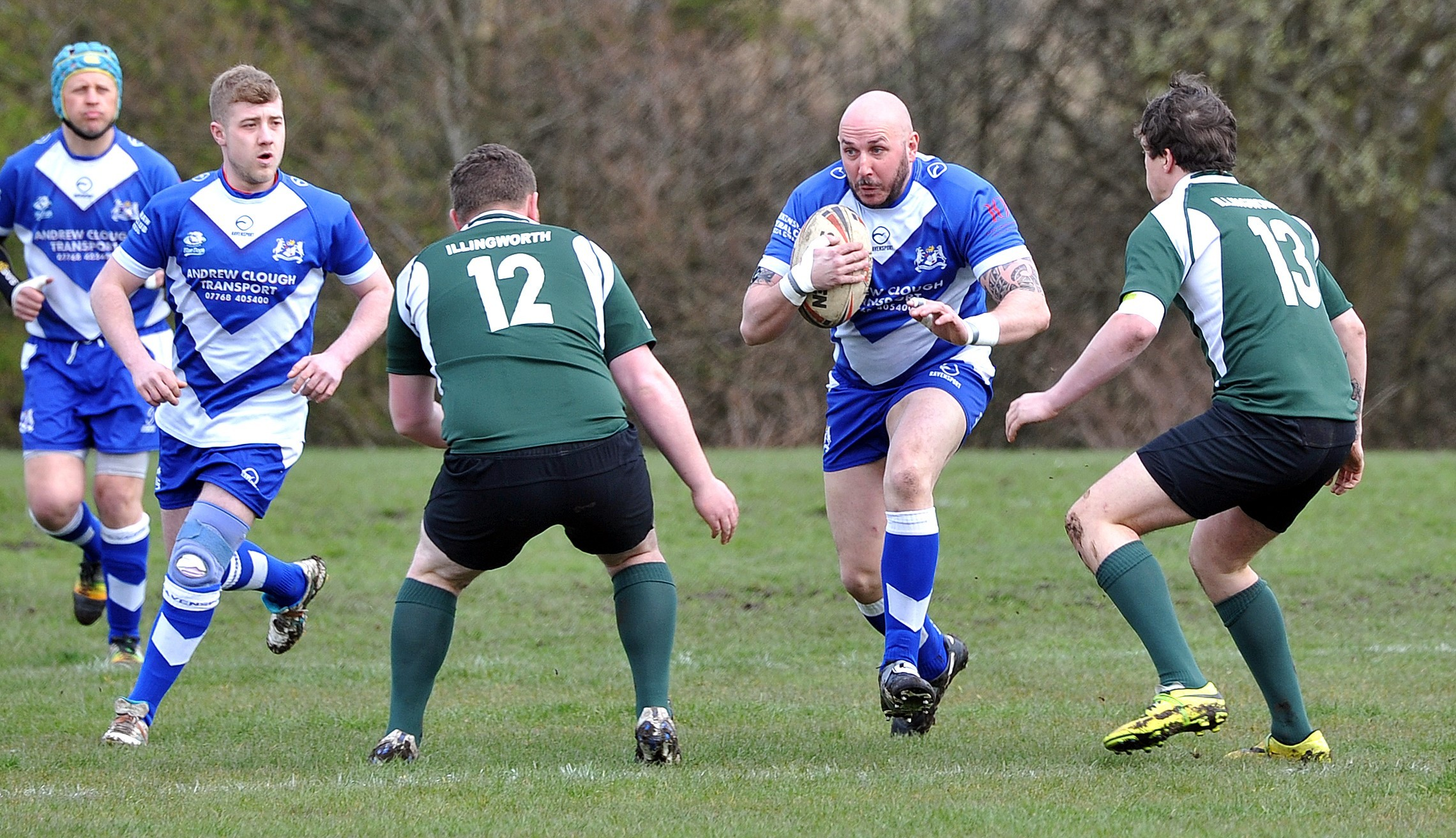 Adam Lazenby starred for Birkenshaw in their win at Wakefield City