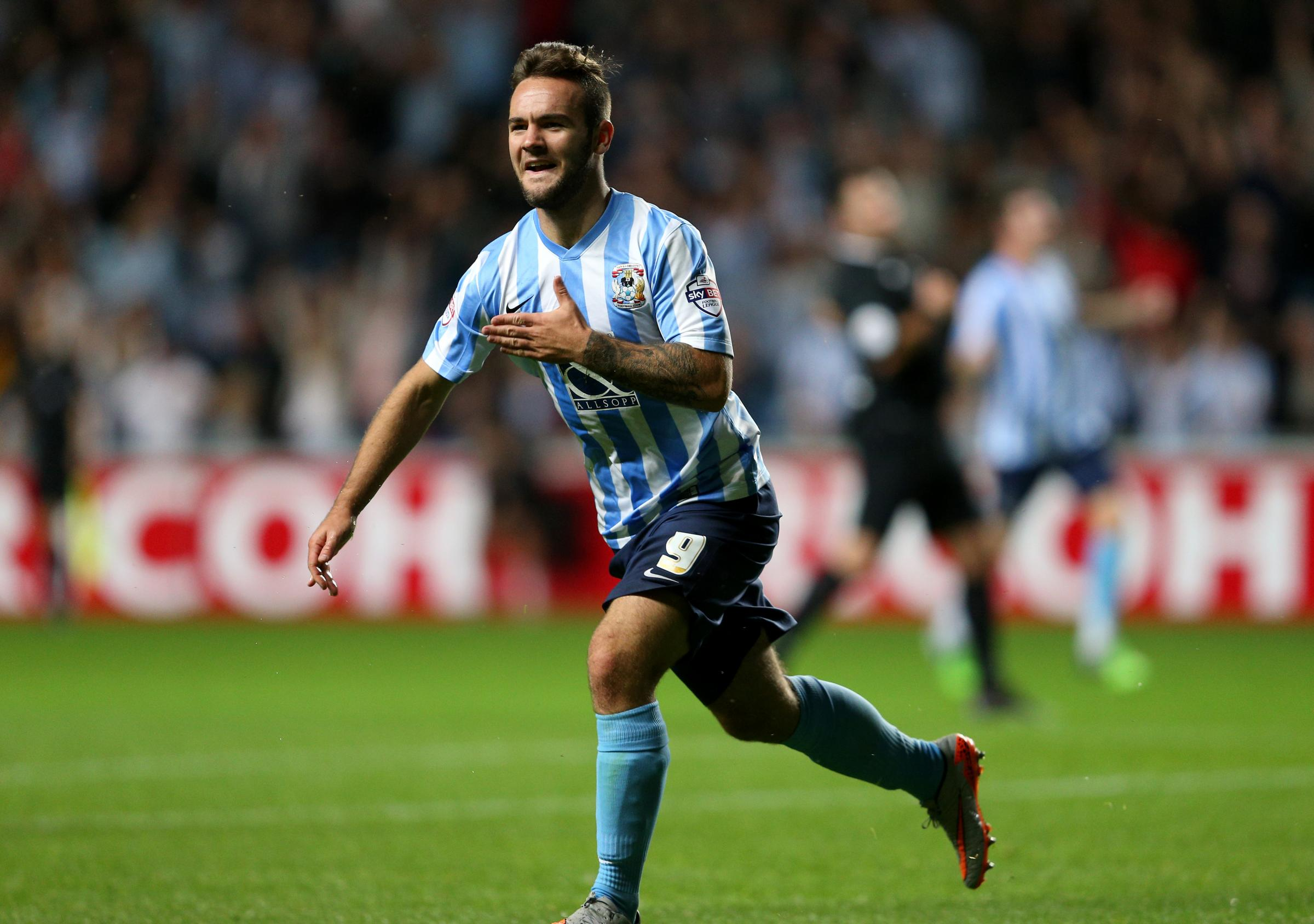 IN DEMAND: Newcastle youngster Adam Armstrong scored 20 goals on loan at Coventry last season