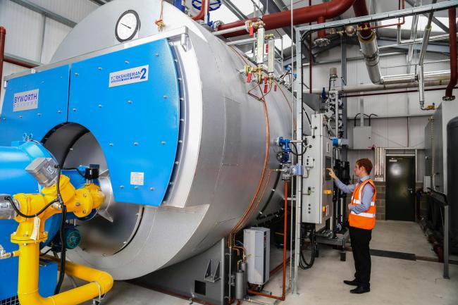 Timothy Taylor's new boiler and Unity system at its brewery, which has reduced operating costs.