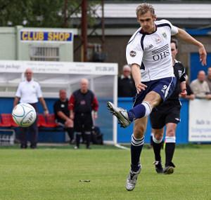 James Hanson had a terrific season for Guiseley, scoring 25 goals