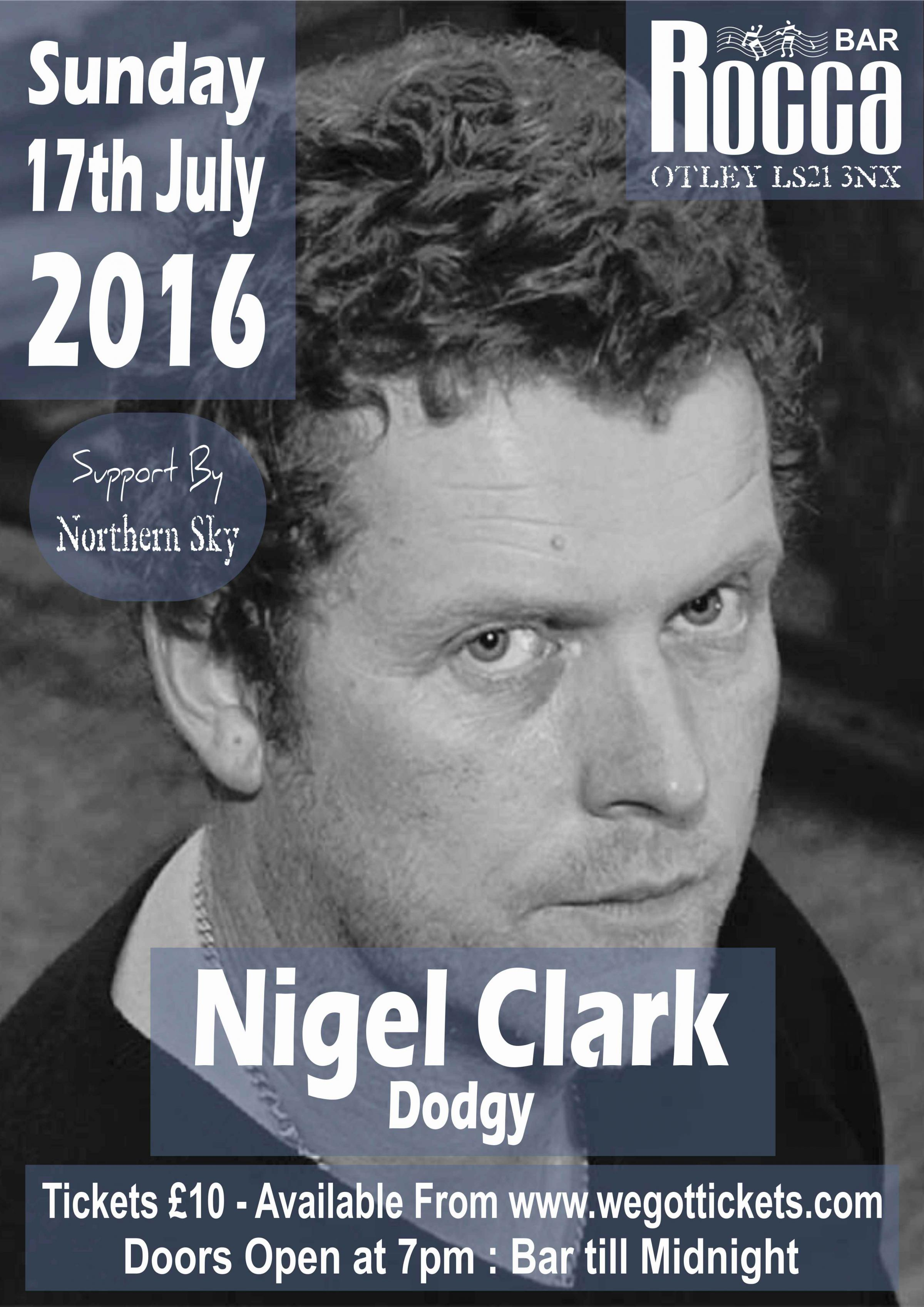 Nigel Clark (Dodgy) Live at Rocca