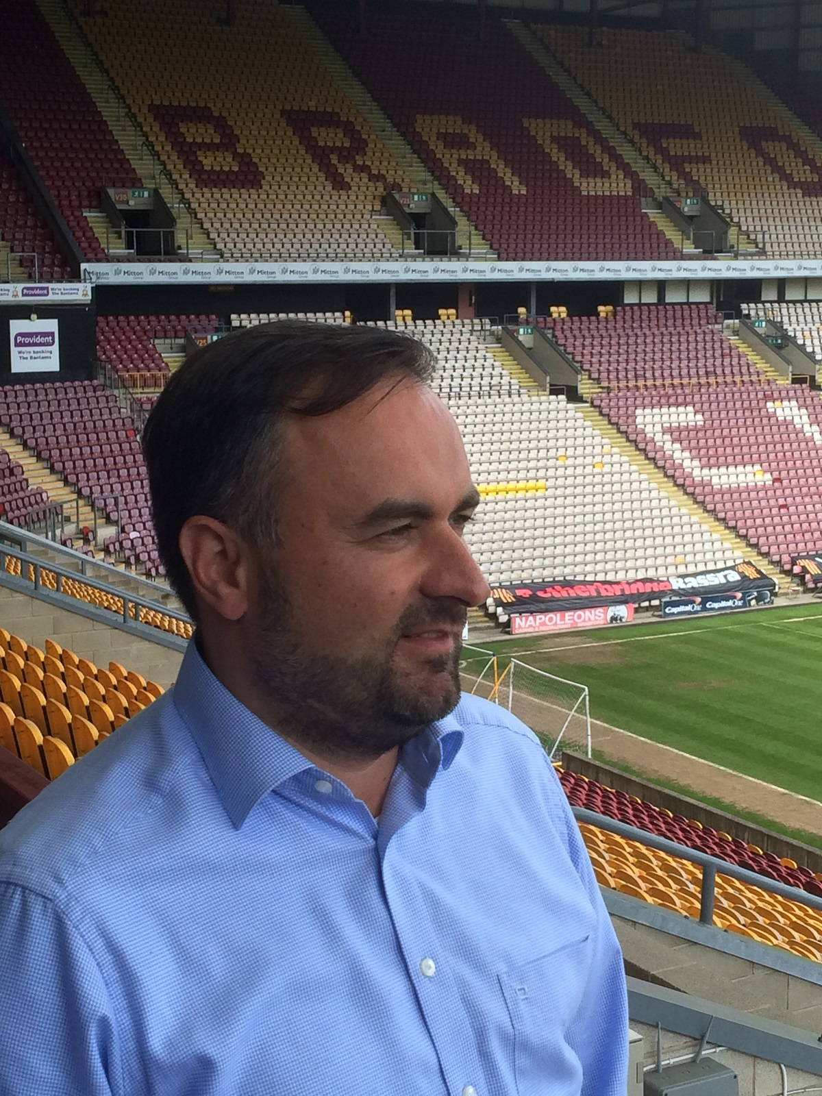 New owner Edin Rahic has vowed: We want to develop the squad and achieve something