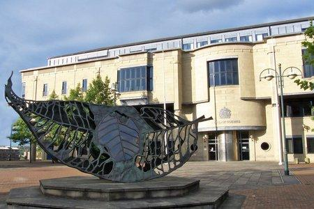 The boy's mother and her friend are on trial at Bradford Crown Court