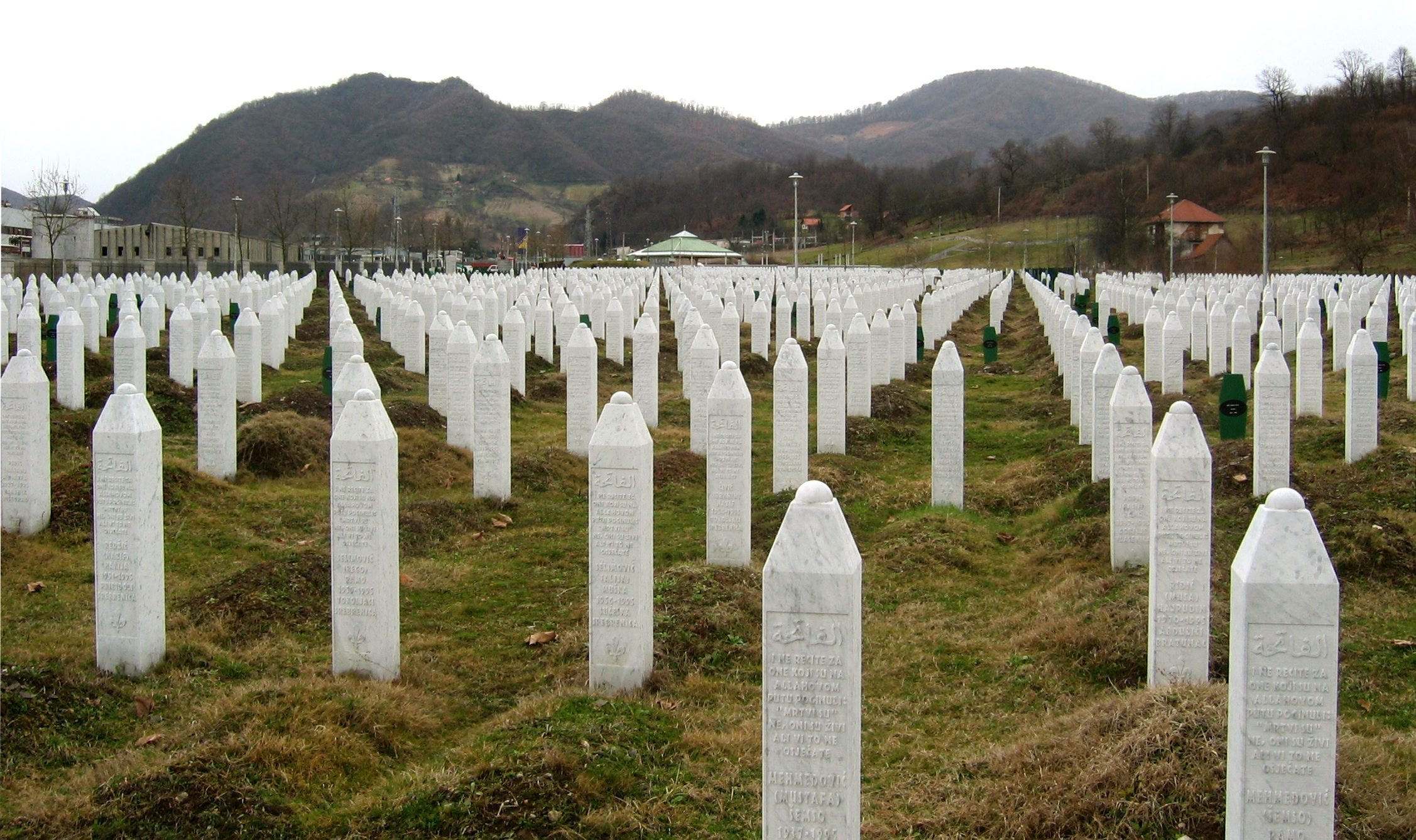 The Srebrenica Genocide Memorial