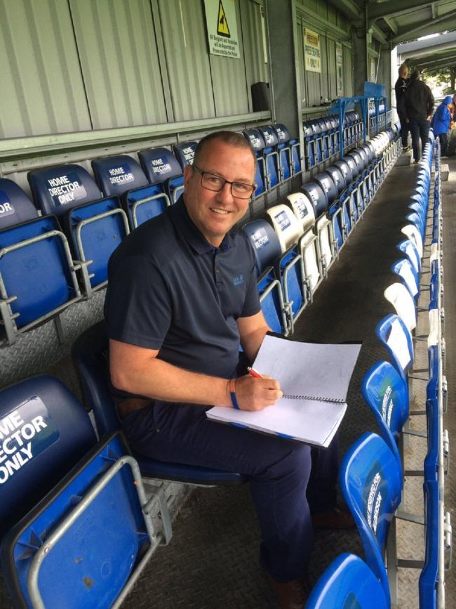 BUSY SCHEDULE: City chief scout Greg Abbott has been fielding long lists of player names