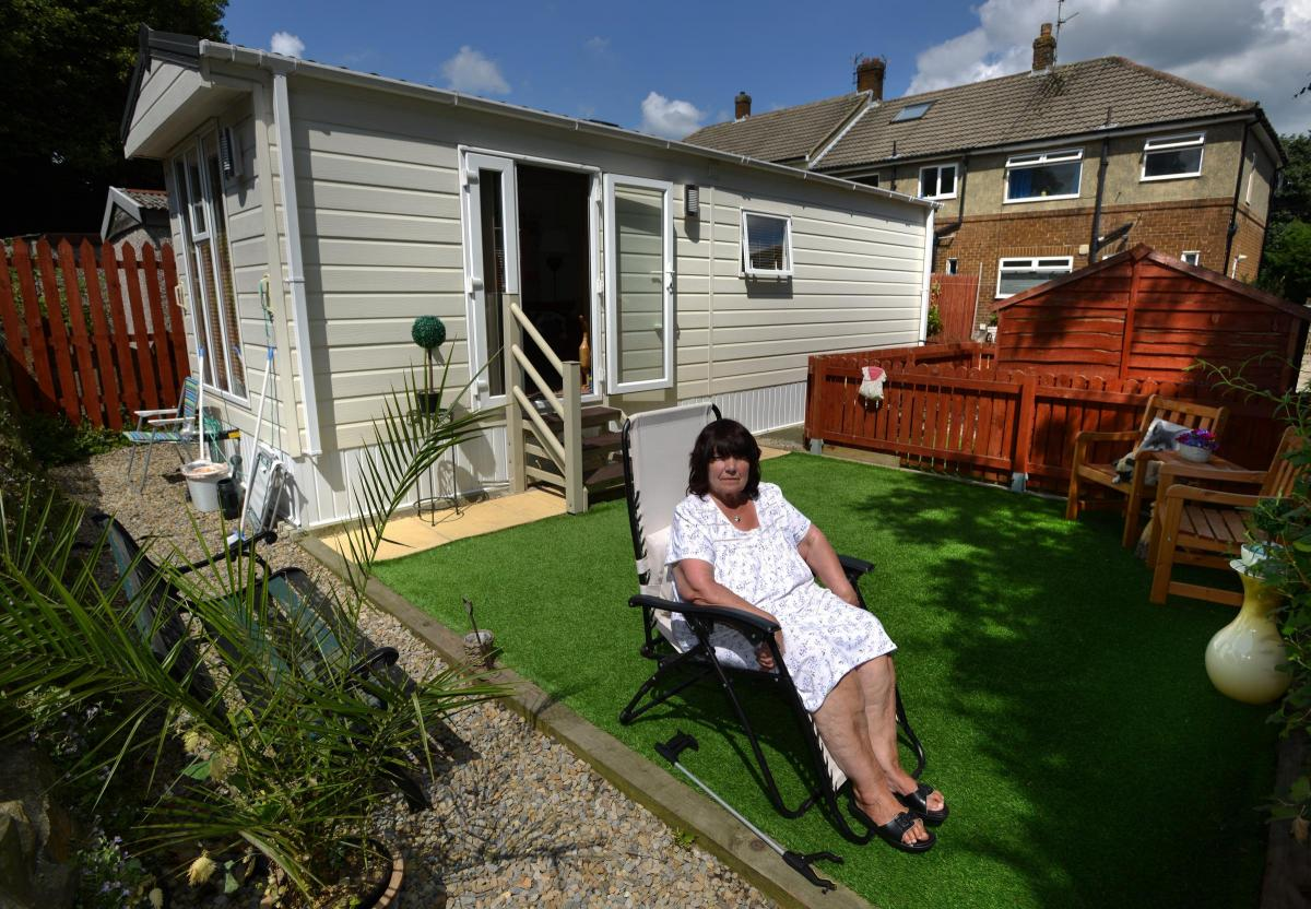 Bradford Council orders Marion Majors to move out static caravan in ...