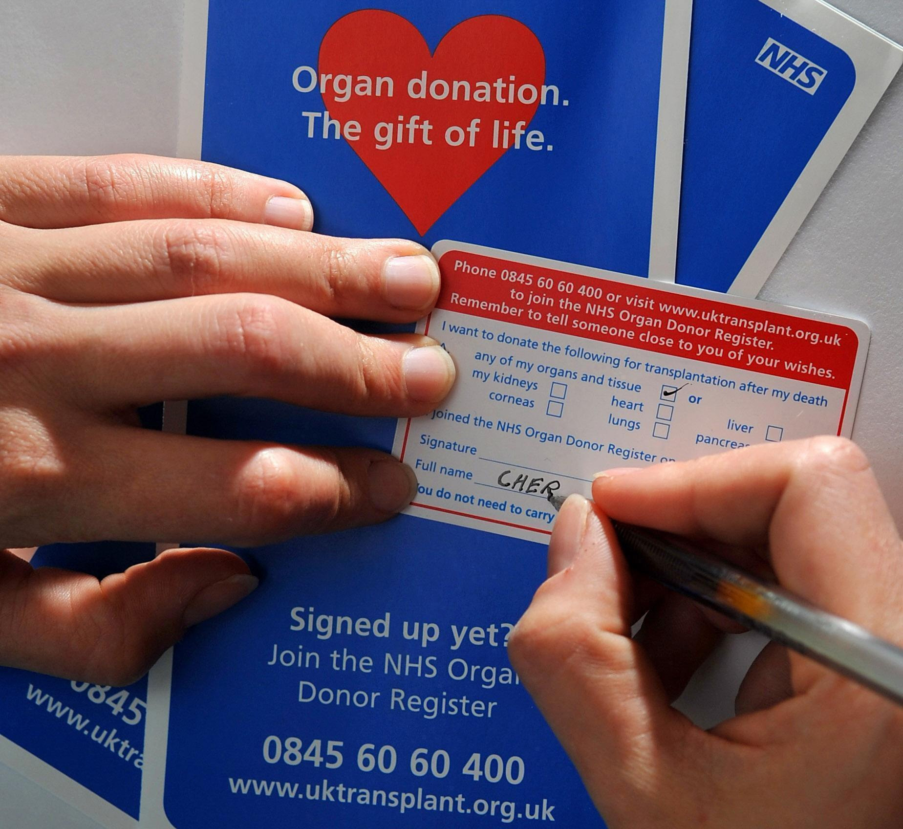 More organ donors are continually needed
