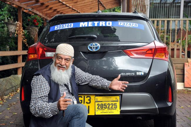 Taxi driver Mehmood Sultan will star in a new film where he plays a judge.