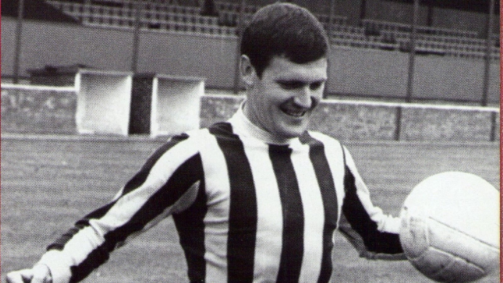 PASSED AWAY: Denis Atkins played right back for both City and Huddersfield