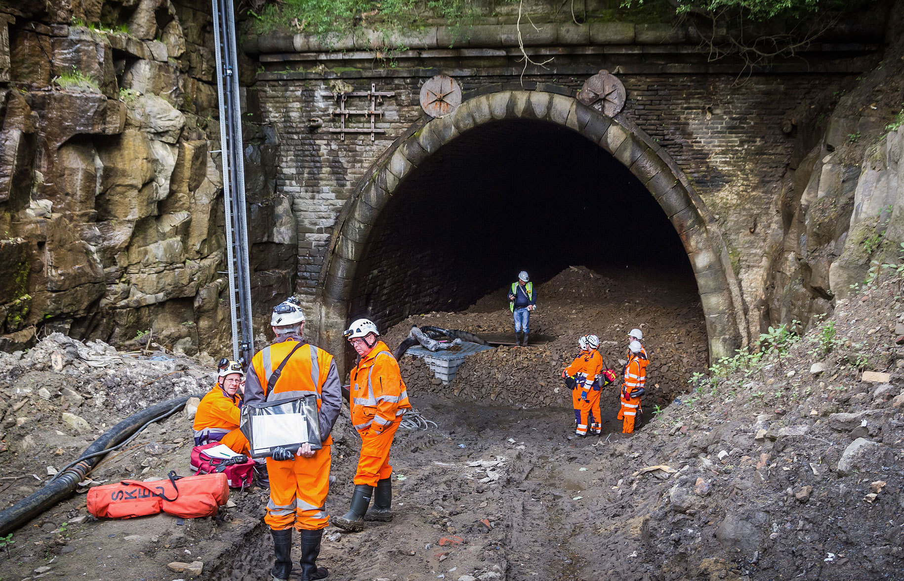 "Campaigners say the Queensbury Tunnel could be an ""asset"" as a cycle path. Picture: Graeme Bickerdike/Four by Three"